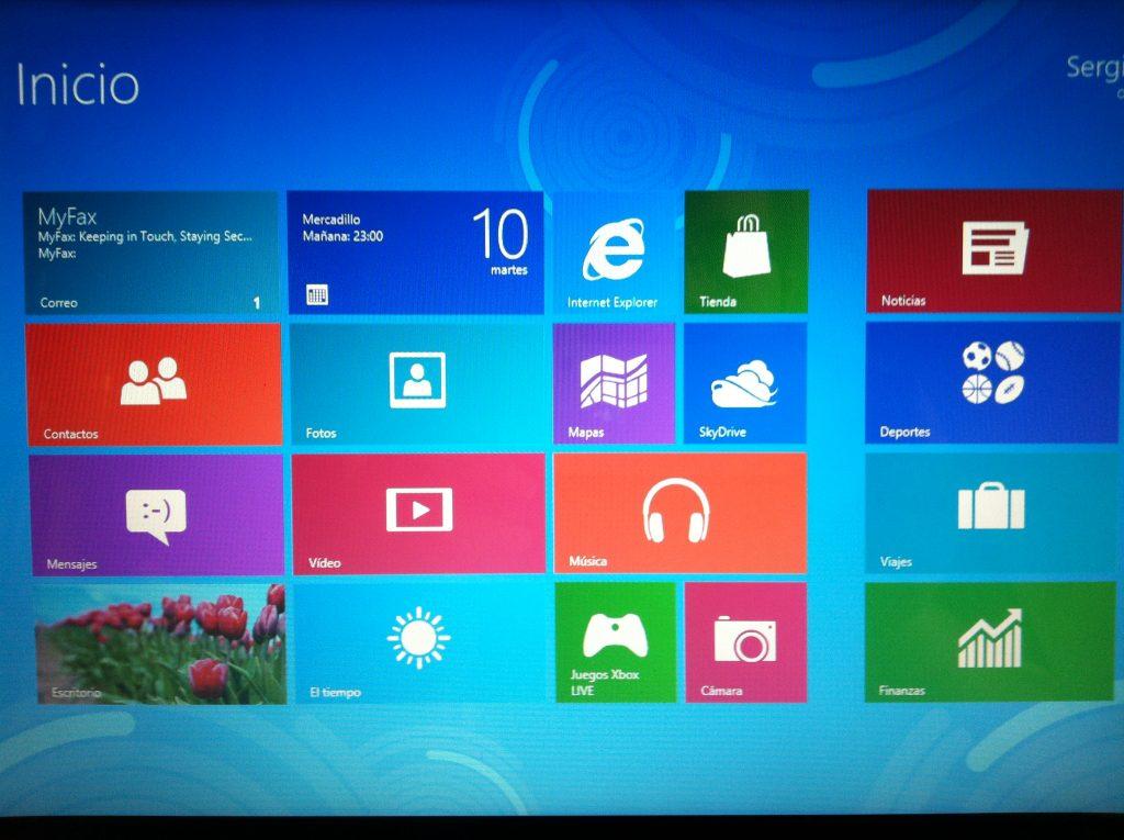 Asistente configuración windows 8.1