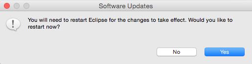 Reiniciar eclipse PHP