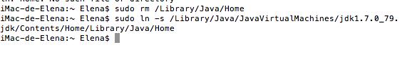 Reemplazar versión actual Java
