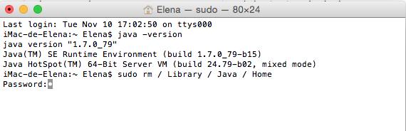 Redefinir variable JAVA_HOME