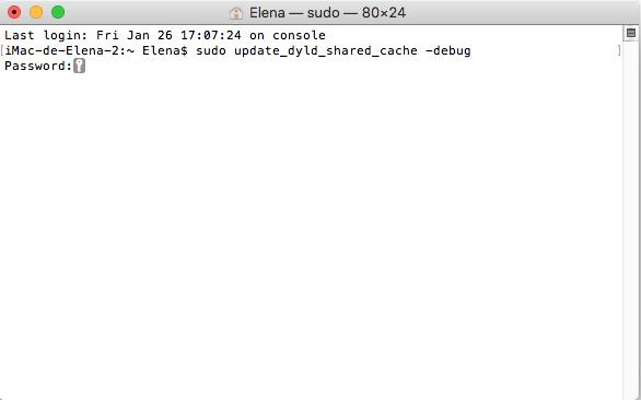 Acelarar earranque de Mac OS High Sierra
