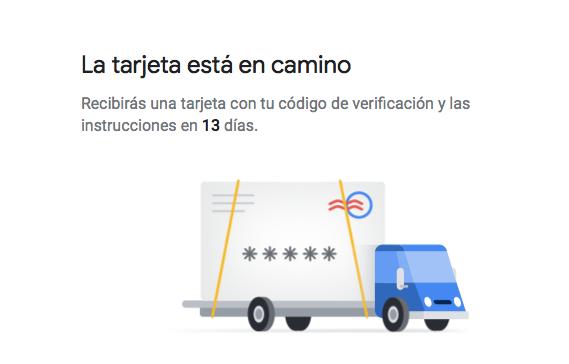 verificacion google mybussines en espera